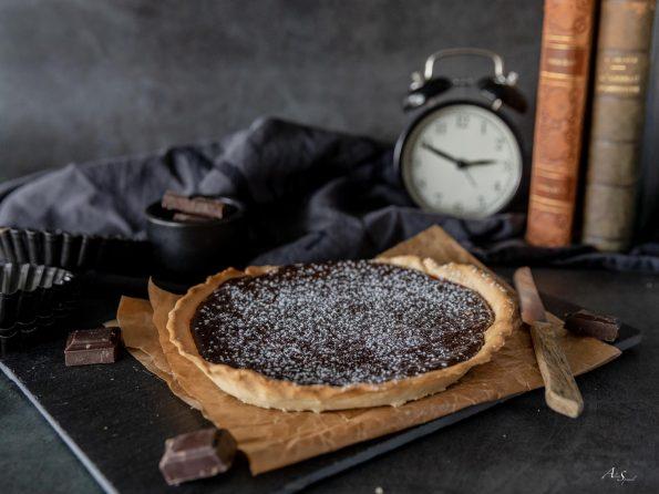 tarte-au-chocolat-maison