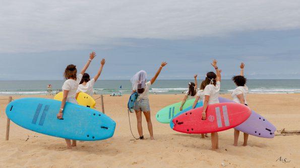 EVJF planche de surf