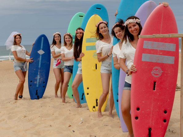 EVJF surf plage