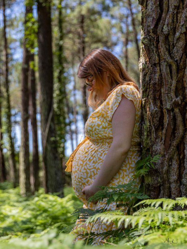 Grossesse dans les pins