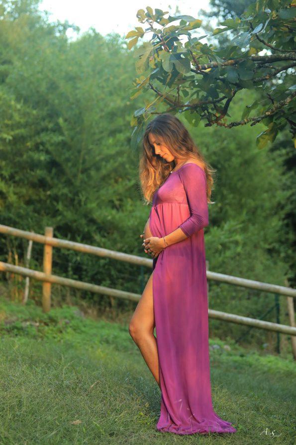 robe-grossesse-violette-landes