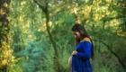 robe-grossesse-voile-bleue