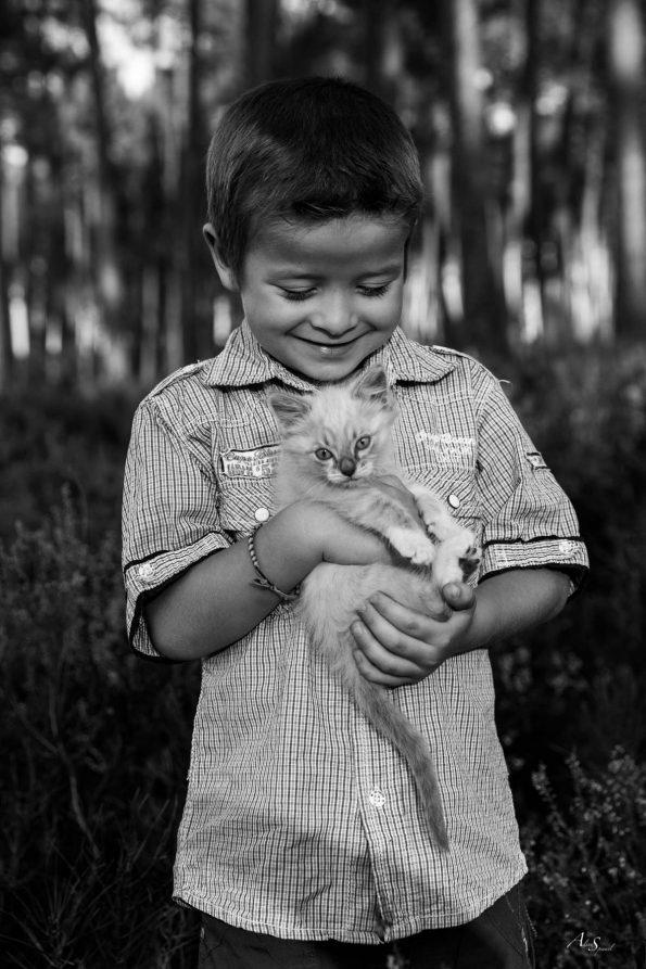 amour-enfant-chaton