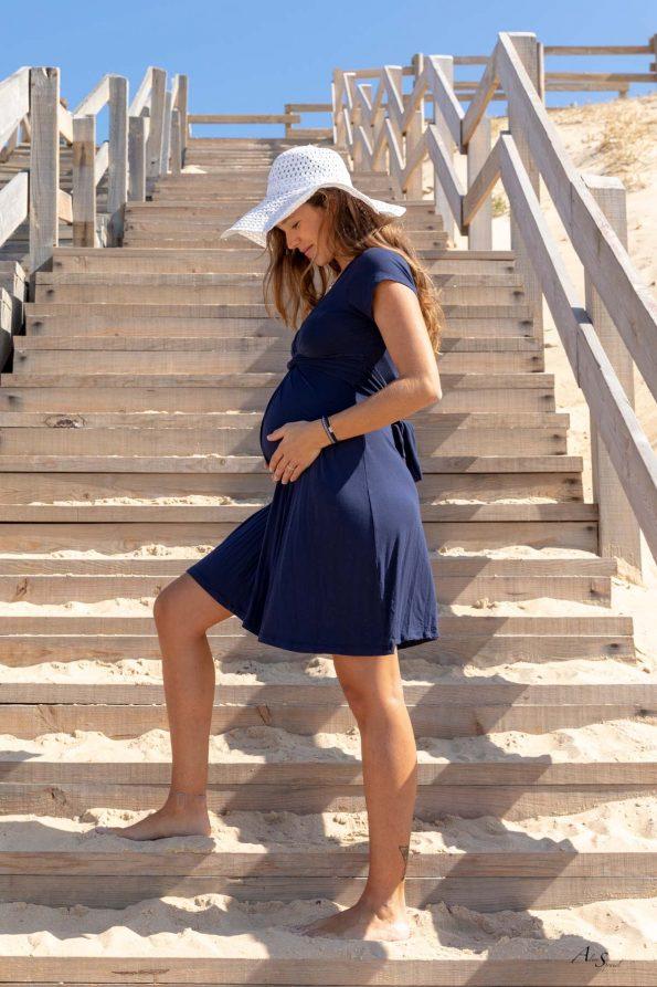 robe-courte-grossesse