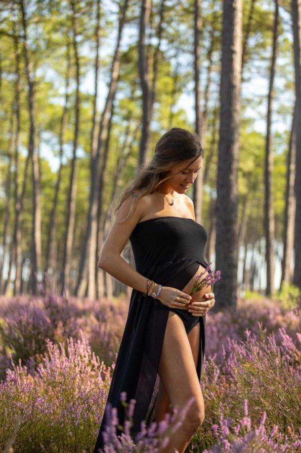 robe-grossesse-noire