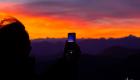 Artzamendi silhouette