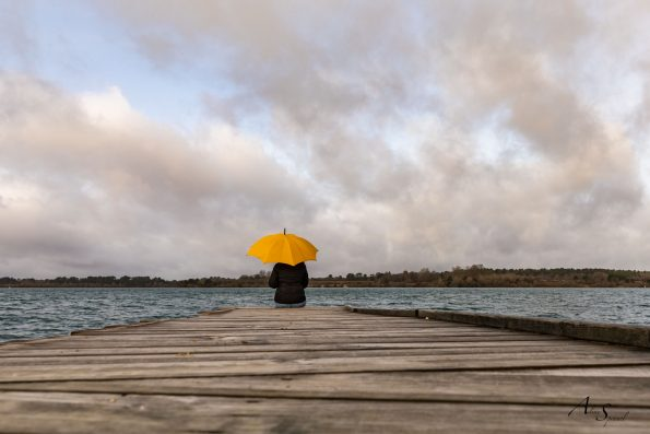 parapluie ponton