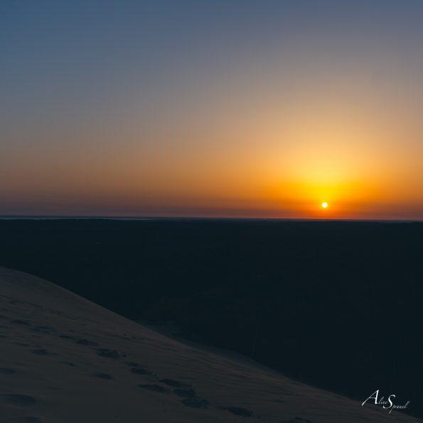 lever de soleil dune pilat