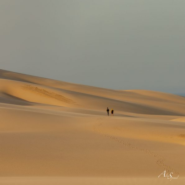 marche sur la dune