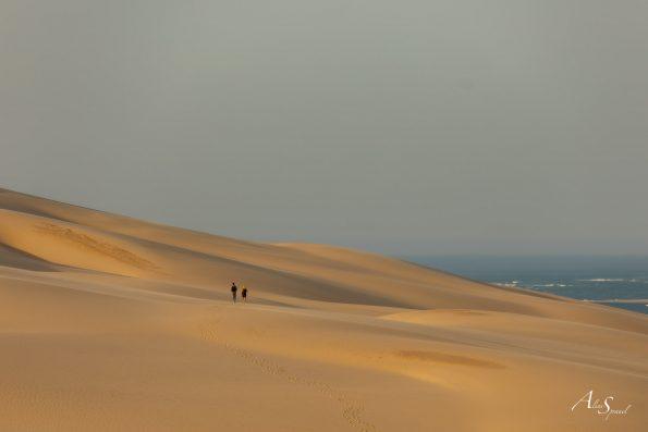 marche sur la dune du pilat
