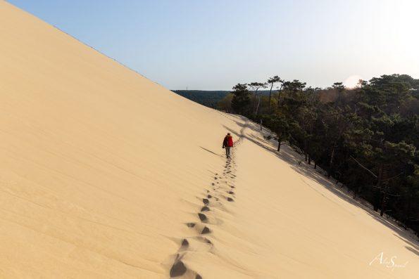 marcher sable dune du pilat