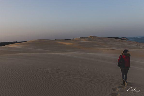 marcher sur la dune du pilat