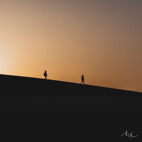 marcheurs dune