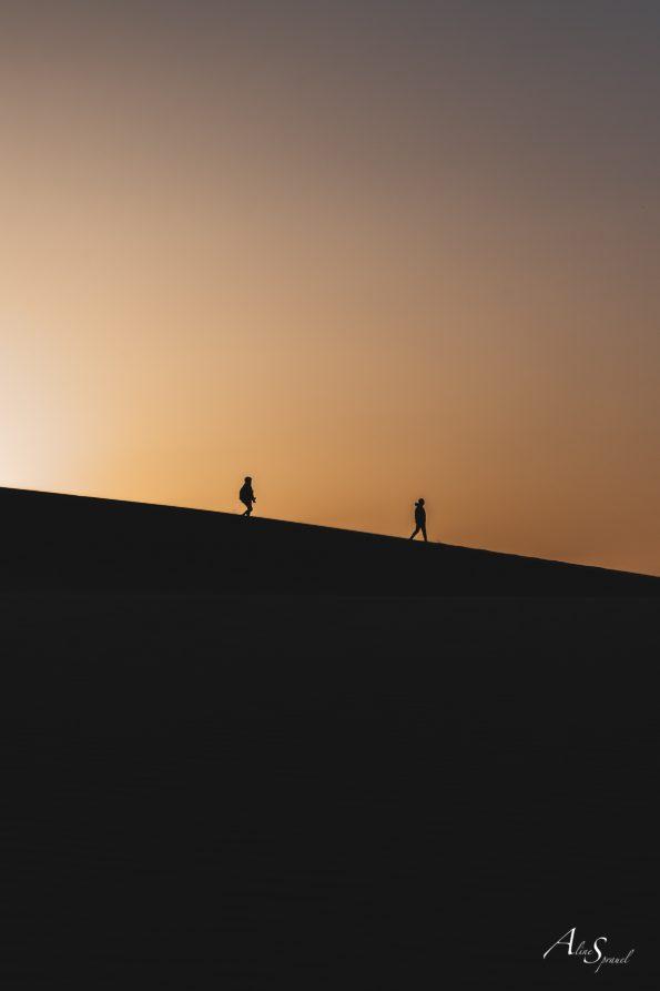 marcheurs dune du pilat