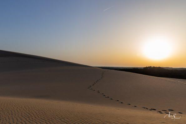 pas lever de soleil dune pilat
