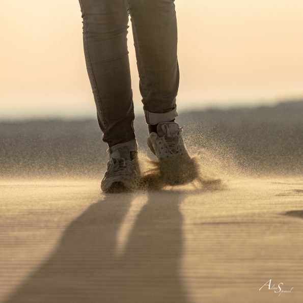 pieds sable dune