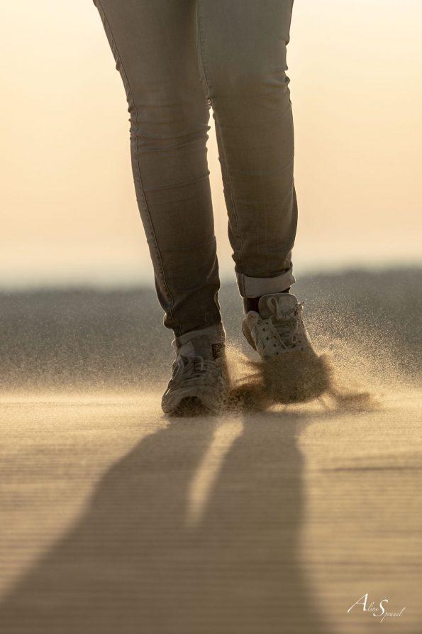 pieds sable dune du pilat