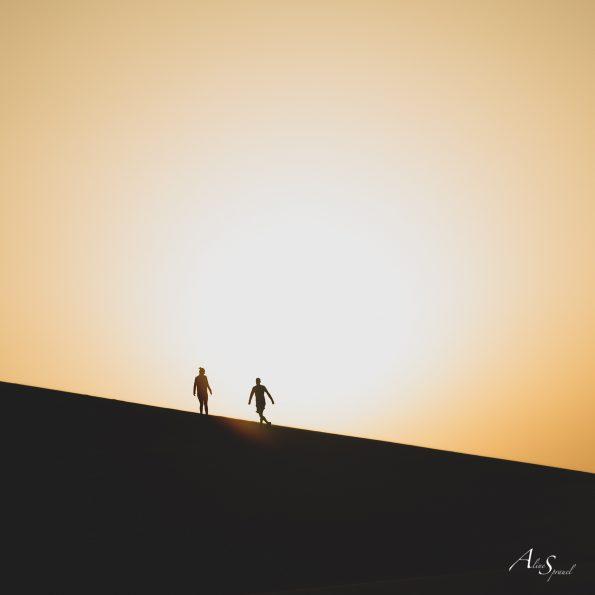 silhouette joue dune