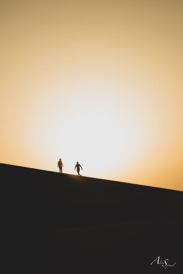 silhouette joue dune pilat