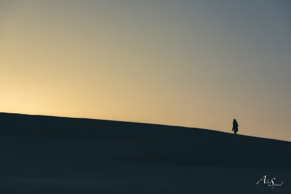 silhouette marche dune pilat