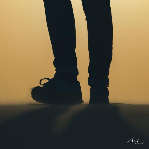 silhouette pieds