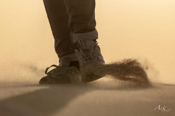 silhouette pieds dune pilat