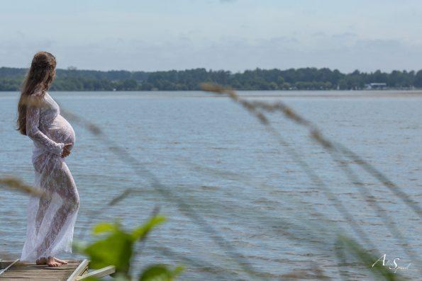 photo Grossesse lac
