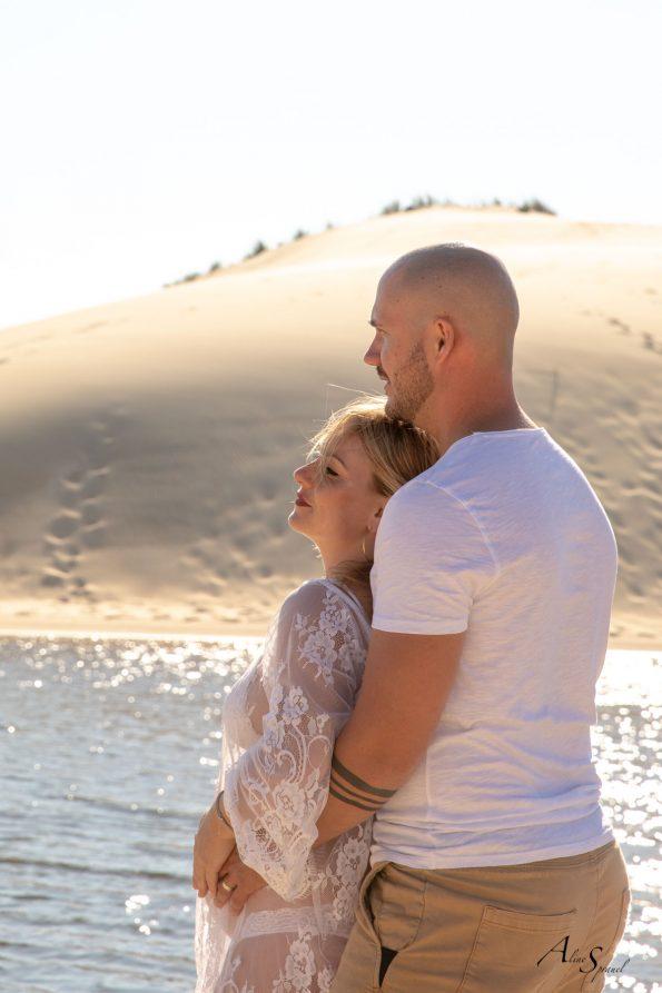 photo couple plage