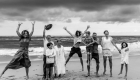 photo famille originale plage